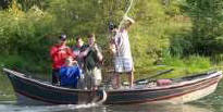 Drift Boat Fishing Clackamas River